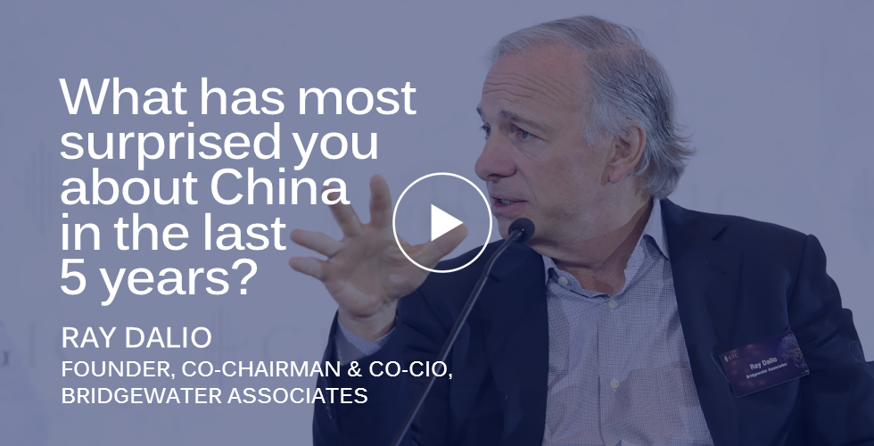 GIC Insights 2018: Ray Dalio on what most surprised him about China